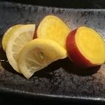 遊食彩旬 乃'SAN - 【期間限定】サツマイモの檸檬煮