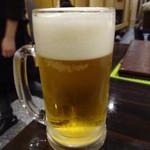 四季香 - 生ビール:500円