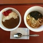 山田うどん - 朝カレーセット300円
