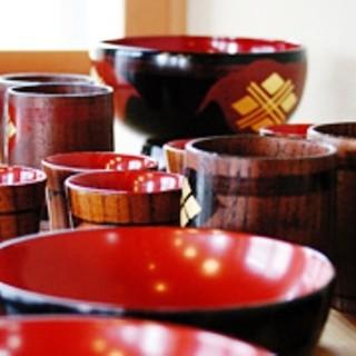 平泉の伝統的工芸品「秀衡椀」