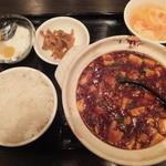 張家 - 麻婆豆腐セット(2016年1月)