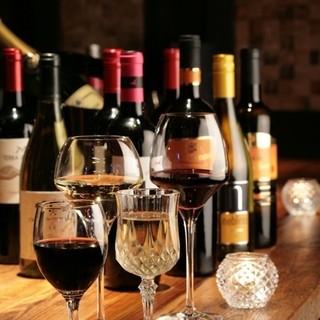 【3杯ワイン】お好きなものを3杯選べる!