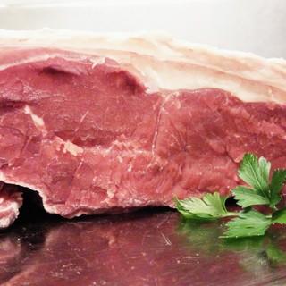 魚介料理とビステッカ(牛ステーキ)