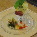 勝 - 料理写真:前菜(レディースセット)
