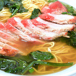 広東料理陽香園 - 叉焼が満載でした。