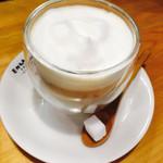 えんがわカフェ - ミルクコーヒー