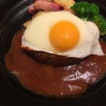 chano-ma - グリルハンバーグ デミグラスソース