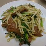 古寿茂 - レバニラ炒め