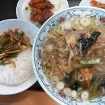 中華菜館 彩中 - 料理写真:ランチ