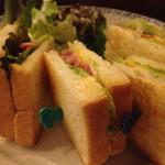 Cafe Ruban - BLTサンド