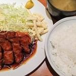 大阪トンテキ - トンテキ定食(200g) 820円