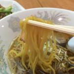 中華料理 東京 五十番 - 麺箸上げ
