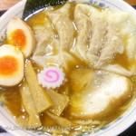 46515655 - ワンタン麺 \940 + 味玉 \100 2015.10