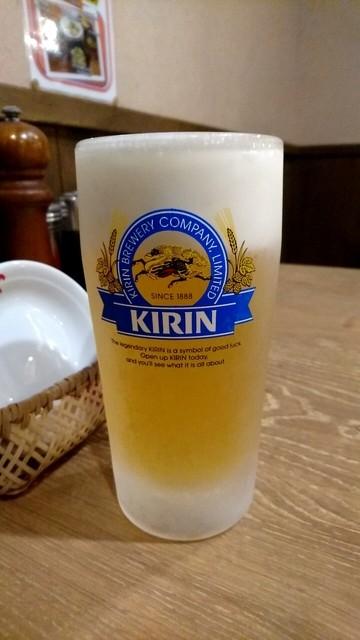 八番山 ばりきや 高崎店 - 生ビール