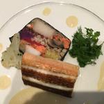 46518068 - 本日の魚料理(ヤガラのソテー)