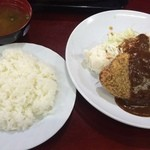 46519015 - メンチカツ定食☆