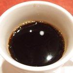 ル・プレヴェール - 牛ハラミプレート 1200円 のコーヒー