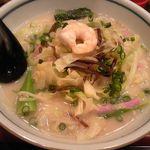 へんこつうどん - 料理写真:野菜ちゃんぽん 693円