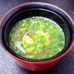 国民宿舎 鵜の岬 - (夕食) あさりの味噌汁