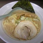 さいたま屋 - 醤油ラーメン(しょうゆとんこつ) 500円
