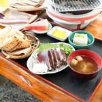黒潮工房 - ちまきタタキ定食 (1080円) '15 8月中旬