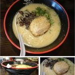 46521224 - 豚骨らーめん。麺達平和店(豊田市)食彩品館.jp撮影