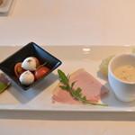 46521437 - 2016/01 前菜盛合せ NAPOLI COURSE 2,850円