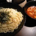 達翁 - つけ麺辛み(中) 700円