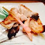 喜久寿司 - 鰤の塩焼き