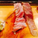 喜久寿司 - 大トロ、中トロ