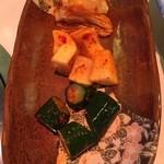 焼肉三茶 住吉店 - キムチセット(食いかけ。)