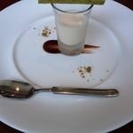 46524810 - ➃セットのドルチェ  ホワイトチョコムースと抹茶のクッキー