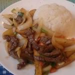 46525819 - 牛肉とポテトの炒め