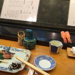 平寿司 - 2016/01/16(土)カウンター席。