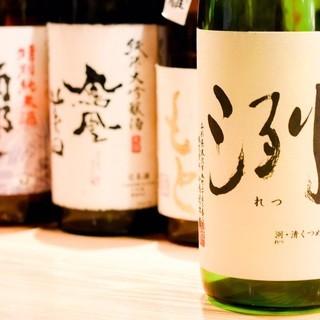 旨い料理に合う!こだわいの【レモンサワー】&豊富な【日本酒】