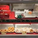 はらドーナッツ 自由が丘店 - クリスマスが近かったので、クリスマス仕様のドーナツも。