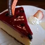 フランセ - ニューヨーク・チーズケーキ  350円