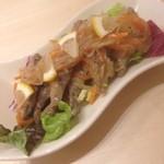 洋食屋 POND - 豆アジのエスカベッシュ