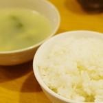 川菜館 - 米飯と湯