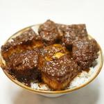 味処 叶 - 味噌カツ丼1200円