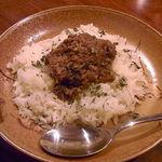 Bar ISLAY - 豚肉のキーマカレー