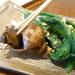 araki 8823 - バイ貝・青菜