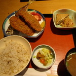 46532629 - アジフライ定食 ¥920