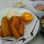 あさひ食堂 - 魚フライ定食