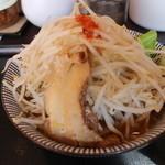 大黒屋本舗 - ふじ麺(720円、斜め上から)