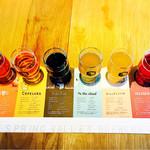 スプリングバレーブルワリー東京 - 6種ビールの飲み比べ