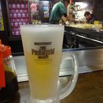 電光石火 - 生ビール:500円