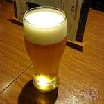 楽屋 - サントリーモルツ 生ビール 650円