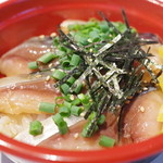 サバの駅 - 料理写真:銀さばトロづけ丼(ハーフサイズ)