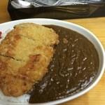 銀座カレー - 料理写真:特盛 とんかつトッピング